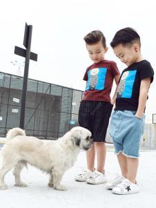 Apple Orange童装男童夏款T恤