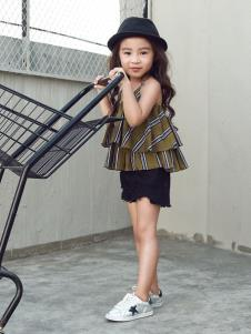Apple Orange女童夏时尚上衣