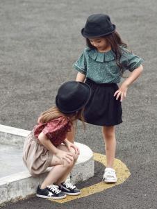 Apple Orange童装女童夏新款