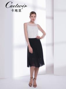卡地亚中高端女装白色连衣裙
