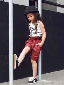 Apple Orange轻潮童装女童夏款套装