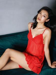 BodyStyle布迪设计红色性感吊带裙