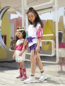 YukiSo童装女童时尚拼接上衣