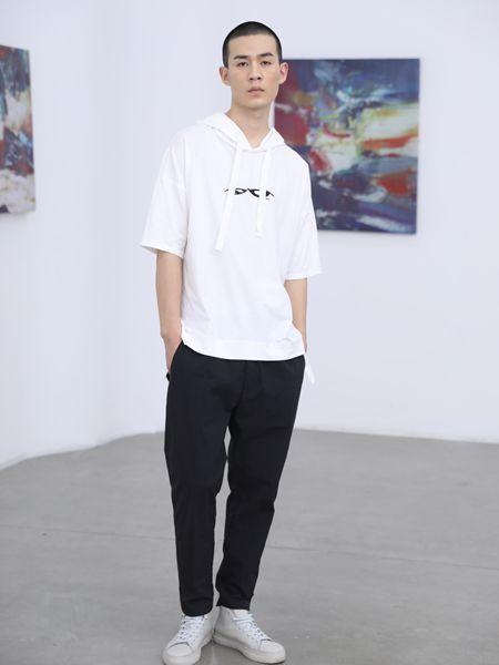 2019线锁轻潮设计师男装夏新款