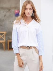 2019EI女装欧美极简衬衫
