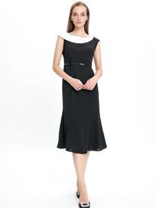 JAOBOO乔帛黑色连衣裙