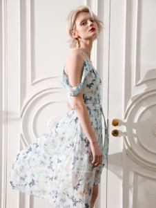 Saslax莎斯莱思夏季新款连衣裙