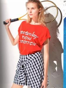 衣魅人品牌折扣女装夏款套装