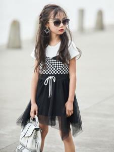 拉斐贝贝女童连衣裙