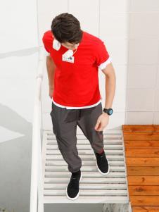 Saslax莎斯莱思新款红色T恤
