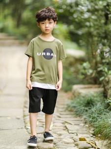 2019城秀男童夏新款T恤