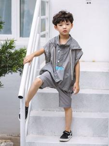 2019城秀男童夏新款上衣