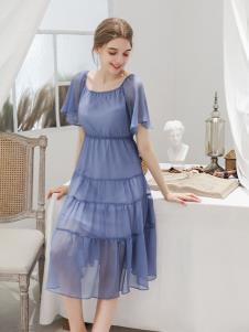 艾诺绮夏季新款连衣裙