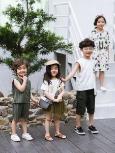 2019城秀童装夏新款