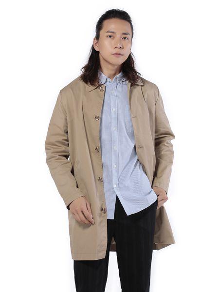 第二印象男装卡其色休闲外套