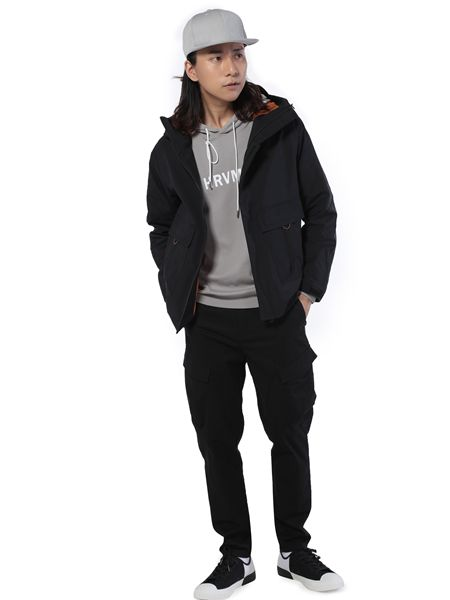 第二印象男装黑色短款外套