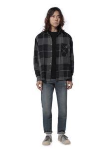 第二印象休闲格子衬衫
