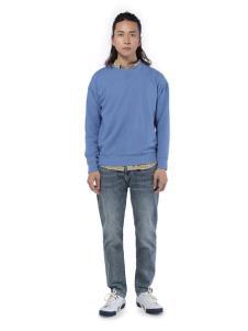 第二印象男装浅蓝色卫衣