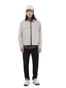 第二印象男装白色短款外套