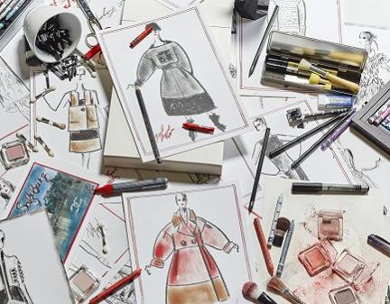 """""""时尚大帝""""Karl Lagerfeld设计手稿即将拍卖"""