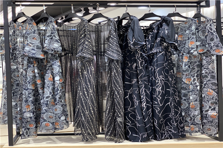 loomva洛米唯娅19夏品牌女装折扣一手货源