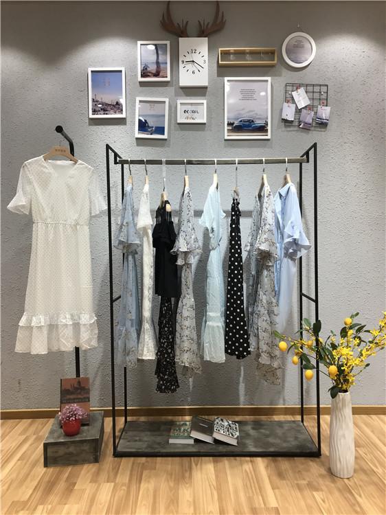 纳纹品牌2019夏季新款女装品牌折扣批发