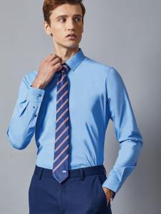 埃沃定制男装新款商务衬衫