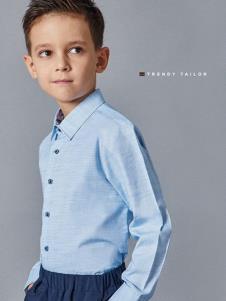 埃沃定制男童新款衬衫