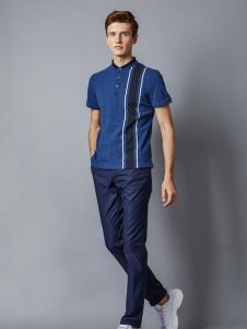 埃沃定制男装新款短袖