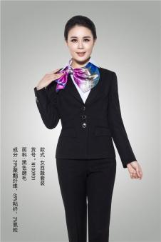 ms女式黑色职业套装