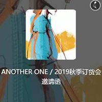 ANOTHER ONE意大利轻奢女装2019秋季新品发布会邀请函