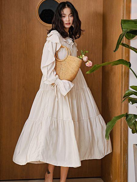搜美女装韩版连衣裙