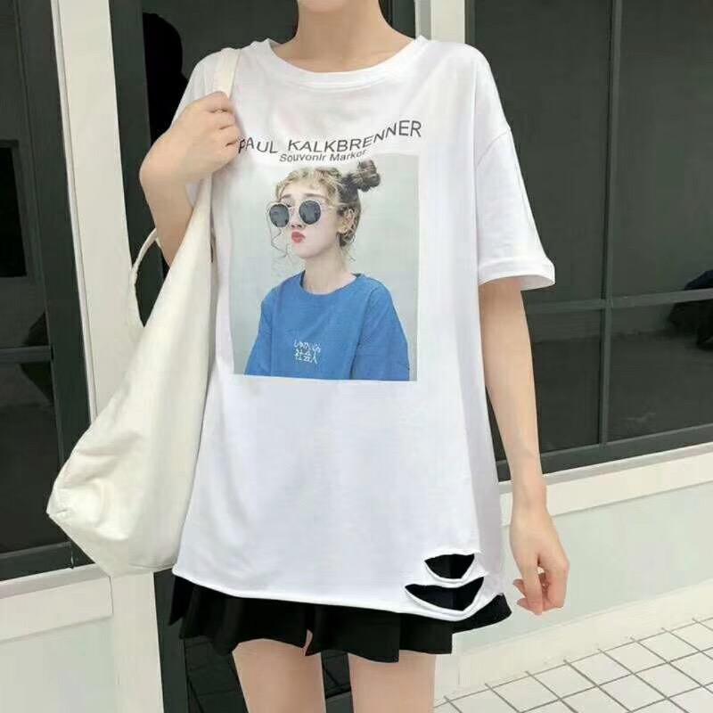 纯棉女装T恤一手货源