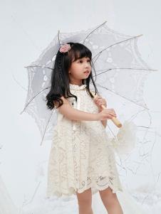 DIZAI棣仔女小童时尚连衣裙