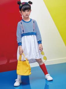 DIZAI棣仔童裝女童夏新款裙子
