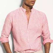 新申亚麻大师 | 亚麻条纹衬衫,清爽时髦过假期。