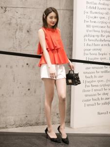 LIYA LISA莉雅莉萨橙色上衣