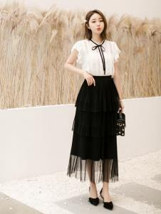 LIYA LISA莉雅莉萨新款网纱半身裙
