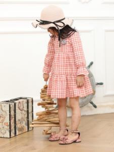 MUUZI木子童装新款格子裙