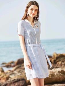 惠之良品品牌折扣女装衬衫裙