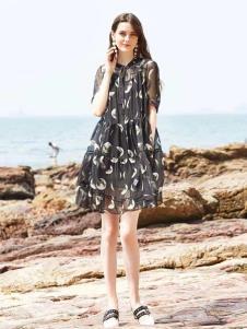 惠之良品品牌折扣女裝韓版連衣裙