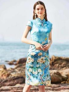 惠之良品品牌折扣女装旗袍