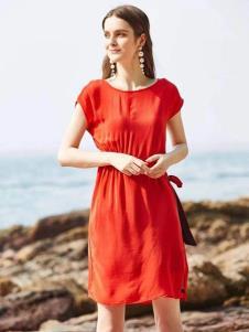 惠之良品品牌折扣女装夏连衣裙