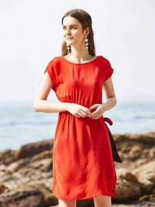 惠之良品品牌折扣女装简约连衣裙