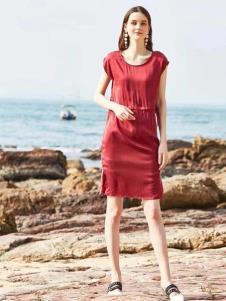 惠之良品品牌折扣女装知性套装裙