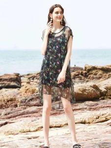 惠之良品品牌折扣女装唯美连衣裙