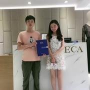 恭喜江苏省左女士成功签约轻奢、艺术、优雅ECA女装!