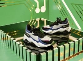 PUMA携手摩托罗拉推出复古科技风RS-X鞋款