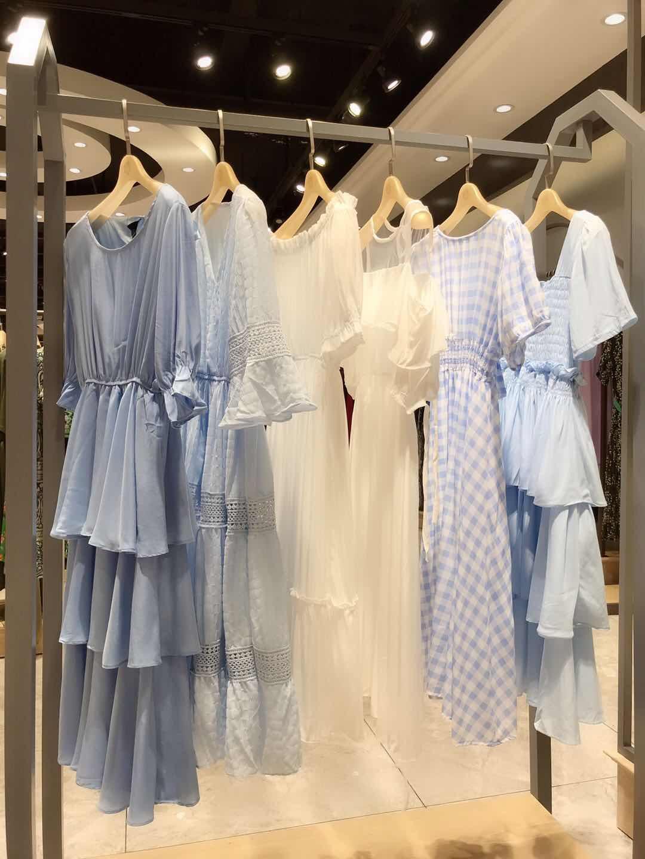 品牌尾货女装连衣裙一手货源
