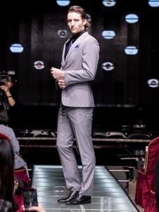 雷尼德高定男装商务休闲西服套装